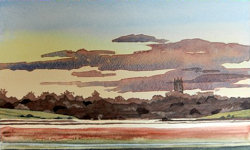 Watercolour tuition classes Brecon Beacons